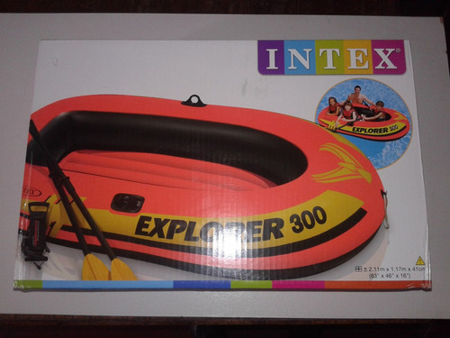 bote inflable soporta 186 klg.