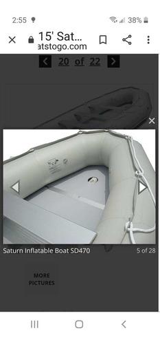 bote inflabletipo zodiak con motor fuera de borda