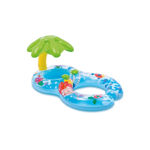 bote inflável baby peixinhos colorido