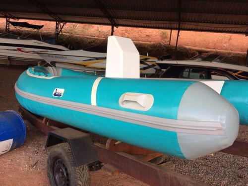 bote inflavel com hidrojato