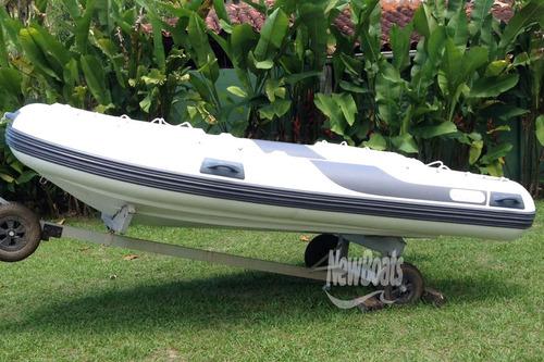 bote inflável zefir gold f 360 só casco
