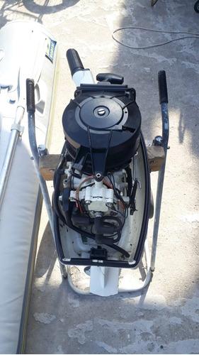 bote inflável zodiac cfr 310 acti-v + motor johnson 8hp