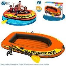 bote inflble modelo explorer 300 mas dos remps+inflador