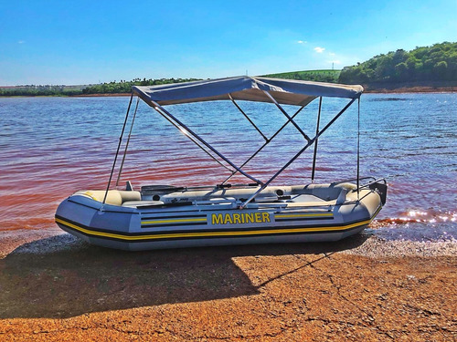 bote intex mariner 4 fundo rigido,modelo exclusivo.