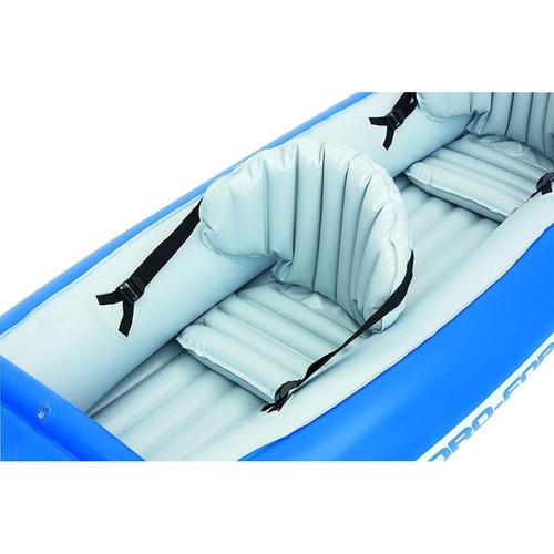 bote kayak inflable con remos para 2 personas
