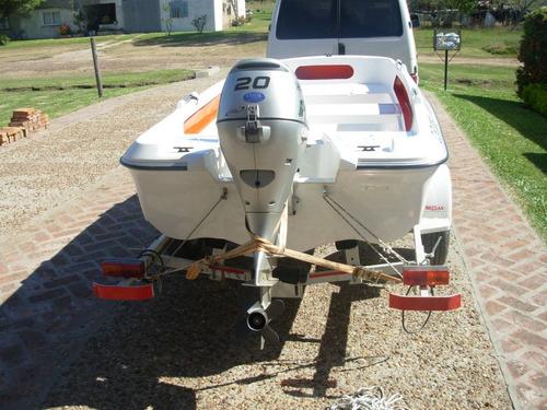 bote lagunero pescador amarinta 330 nuevo sin motor 2017