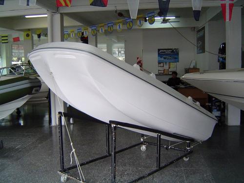 bote lagunero pescador trimaran amarinta 330 nuevo sin motor