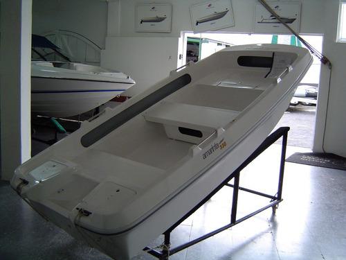 bote lagunero pescador trimaran amarinta 330 sin motor 2017