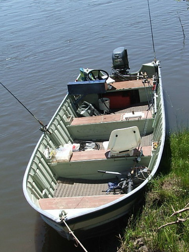 bote lancha aluminio 6 metros