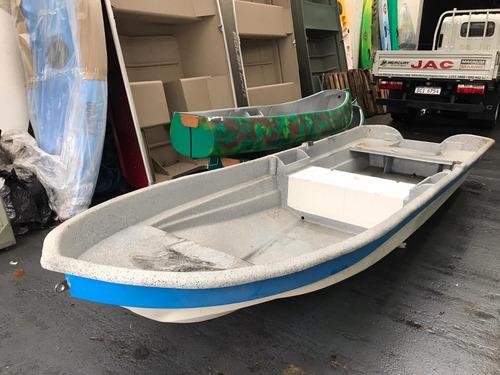 bote lancha fibra sioux mulita motor mercury 5 hp garantia