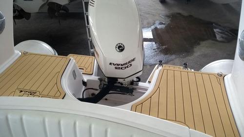 bote lancha flexboat sr-620 200hp com carreta