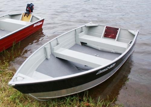 bote metalglass aruak 350 en  duraluminio