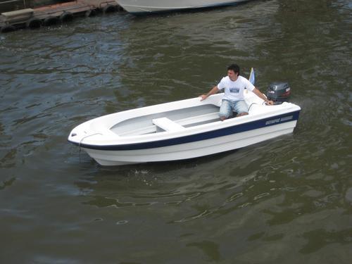 bote pescadelta 390 mts, olympic marine 2017 nuevo sin motor