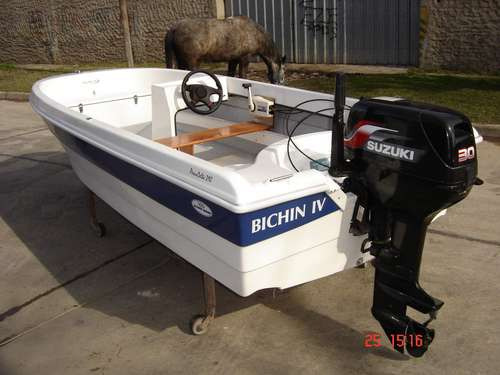 bote pescadelta 390 mts, olympic marine 2018 nuevo sin motor