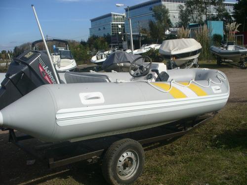 bote pescador 360 articat .ideal rio-laguna-lago hasta 25 hp