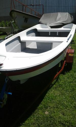 bote pescador 380 sin trailer