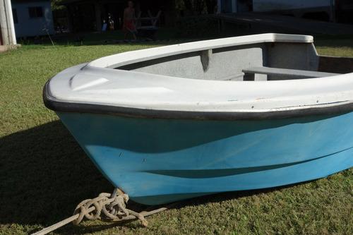 bote pescador 3m lagunero de astilleros grand jean sin motor