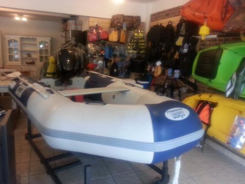bote powertec 3 mt - piso de aluminio