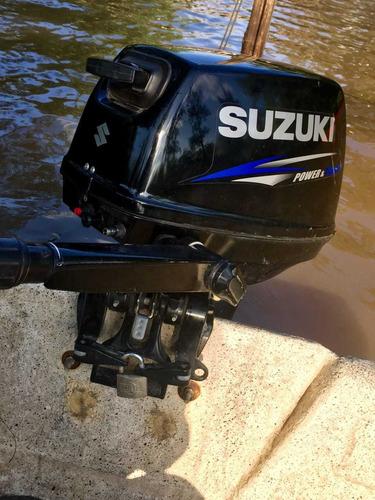 bote rg 415 microtraq motor suzuki 15 hp