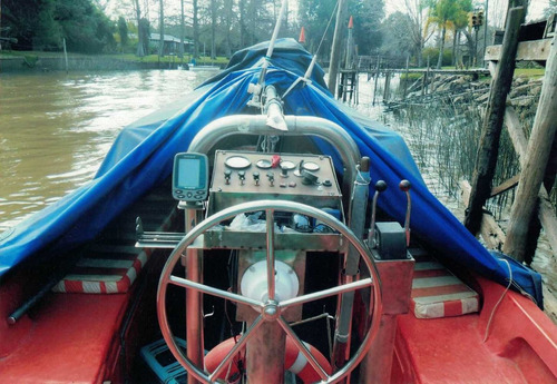 bote salvavida doble proa de plastico