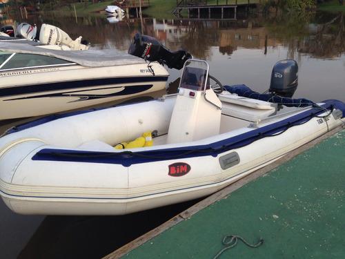 bote semirrígido bim 450 c/trailer mctrail galvanizado
