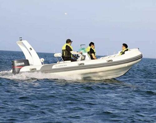 bote semirrigido coralsea hifei hhc 360 25hp lancha ap