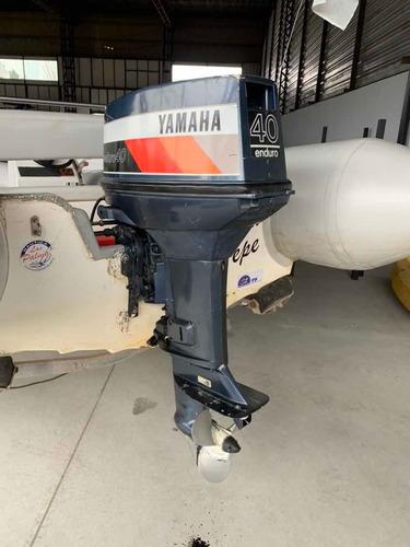 bote semirrígido kiel 460 con yamaha 40 hp