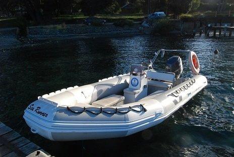 bote semirrigido sea runner 560