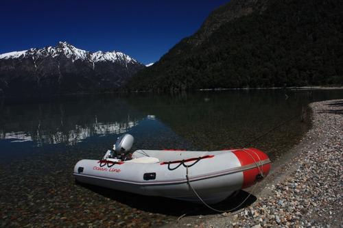 bote semirrigido sea runner modelo ocean line 4,30 mts