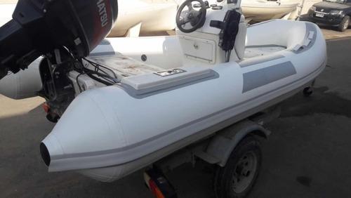 bote semirrigido, tohatsu 50 hp