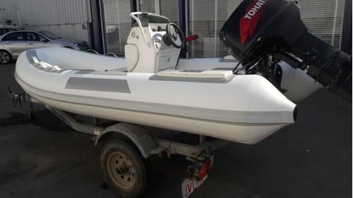 bote semirrigido , tohatsu 50 hp