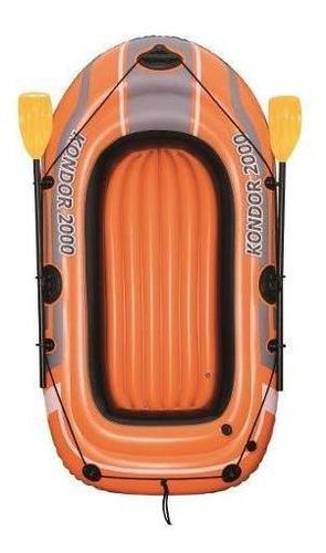 bote set remos + inflador 61062