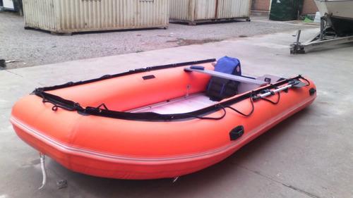 bote tipo zodiac 4.20 piso de aluminio desmontable