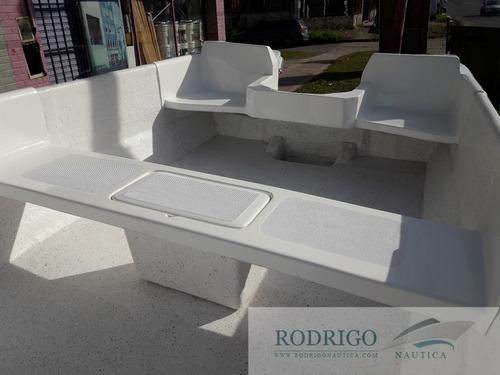 bote tracker lancha 490 2020 // casco s/motor //
