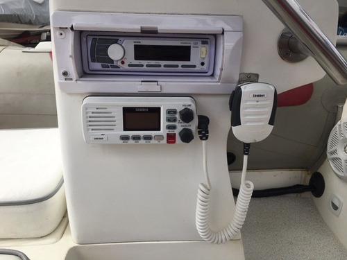 bote zefir 4.2, motor evinrude e-tec 50hp - marina atlântica