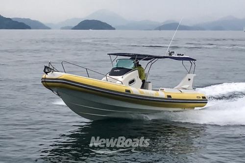 bote zefir 800 full diesel ñ flexboat torpedo inflável