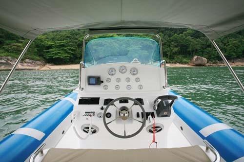 bote zefir g800 full, casco 0km de fábrica -marina atlântica