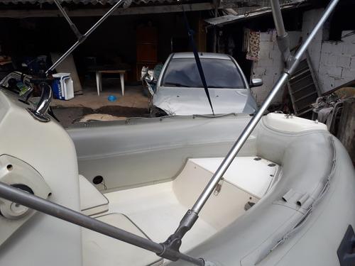 bote zefir gold 420 motor yamaha 40 ano 2006