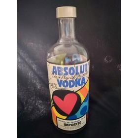 Botella Absolut Vodka Romero Britto 2003