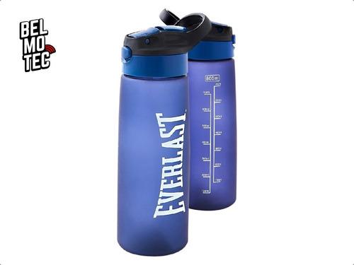 botella agua everlast plastica c/ medidor pico deportivo gym