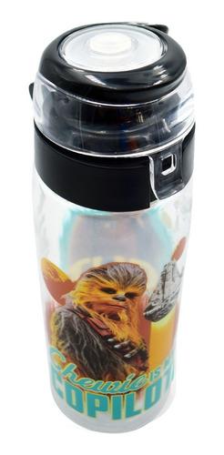 botella agua termo star wars disney han solo 739ml