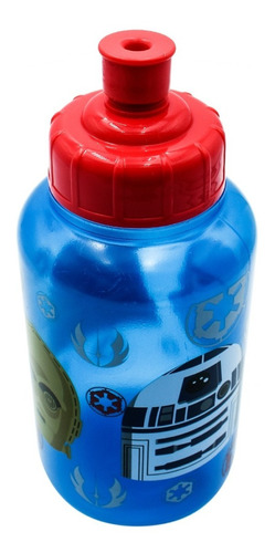 botella agua termo star wars disney para niños 414ml