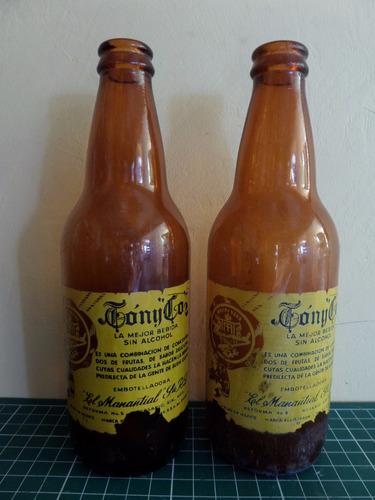 botella antigua de refresco tony-col
