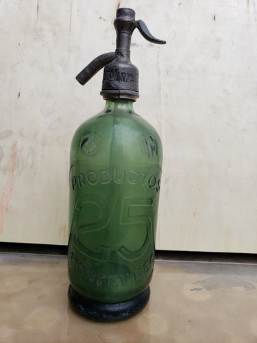 botella antigua sifon envios