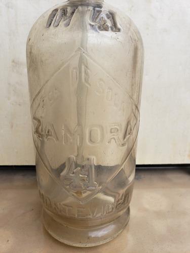 botella antigua sifon vidrio envios
