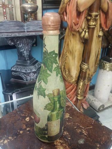 botella antigua u.s.a. vintage decorativa