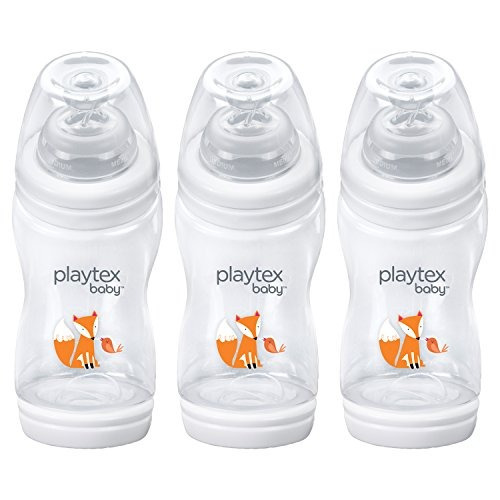 botella antirreflejo anticolico playtex baby ventaire, fox d
