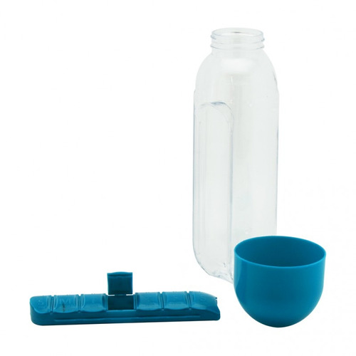 botella botilito  pastillero capacidad  700 ml