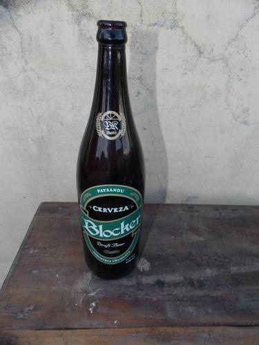 botella cerveza blocker 1 lts