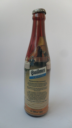 botella cerveza quilmes